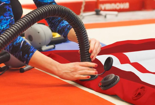 Gymnastics air products supplier